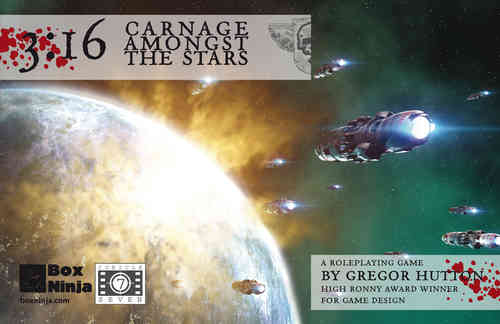 3:16 Carnage Among the Stars (T.O.S.) -  Cubicle 7 Entertainment Ltd