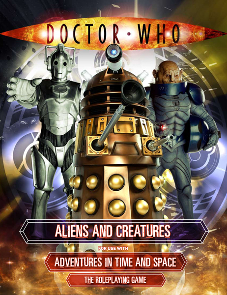 Dr Who  Aliens and Creatures (T.O.S.) -  Cubicle 7 Entertainment Ltd