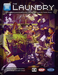 The Laundry RPG  (T.O.S.) -  Cubicle 7 Entertainment Ltd