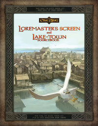Loremasters Screen and Lake town Sourcebook -  Cubicle 7 Entertainment Ltd