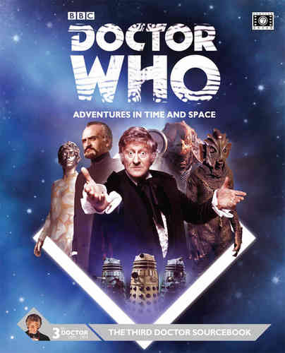 Doctor Who: Third Doctor Sourcebook (T.O.S.) -  Cubicle 7 Entertainment Ltd