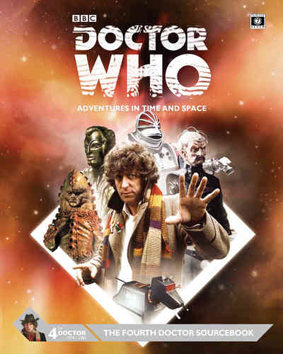 Doctor Who Fourth Doctor Sourcebook -  Cubicle 7 Entertainment Ltd