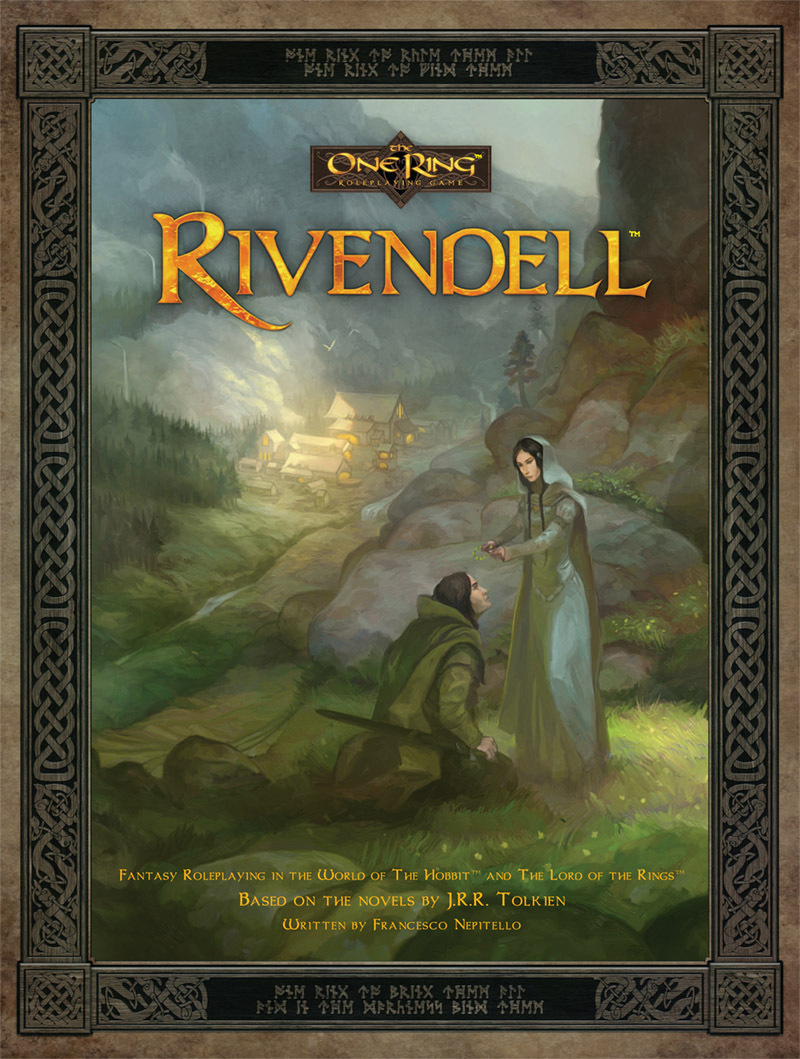Rivendell: The One Ring RPG (T.O.S.) -  Cubicle 7 Entertainment Ltd