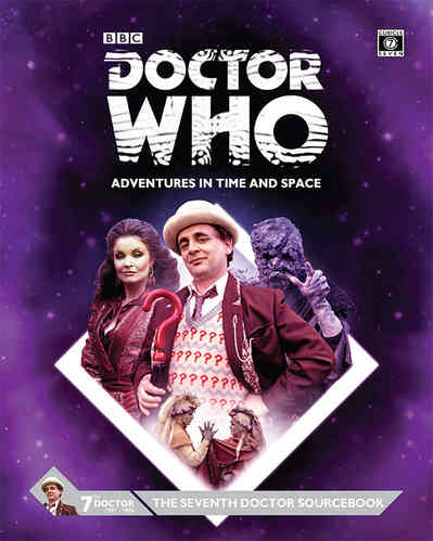 Doctor Who Seventh Doctor Sourcebook -  Cubicle 7 Entertainment Ltd