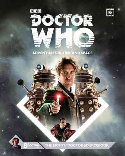 Doctor Who Eighth Doctor Sourcebook -  Cubicle 7 Entertainment Ltd