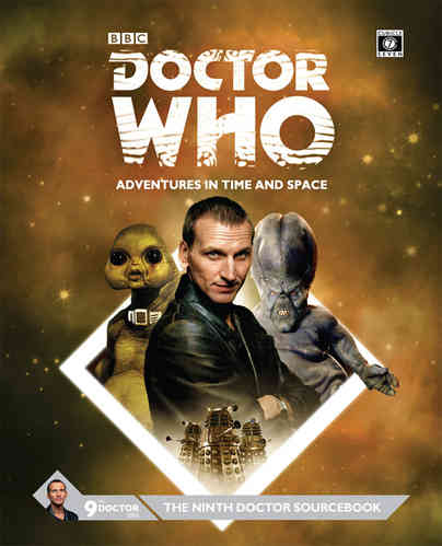Doctor Who Ninth Doctor Sourcebook -  Cubicle 7 Entertainment Ltd