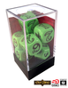 The One Ring - Dice Set Green (1 set of 7 dice)