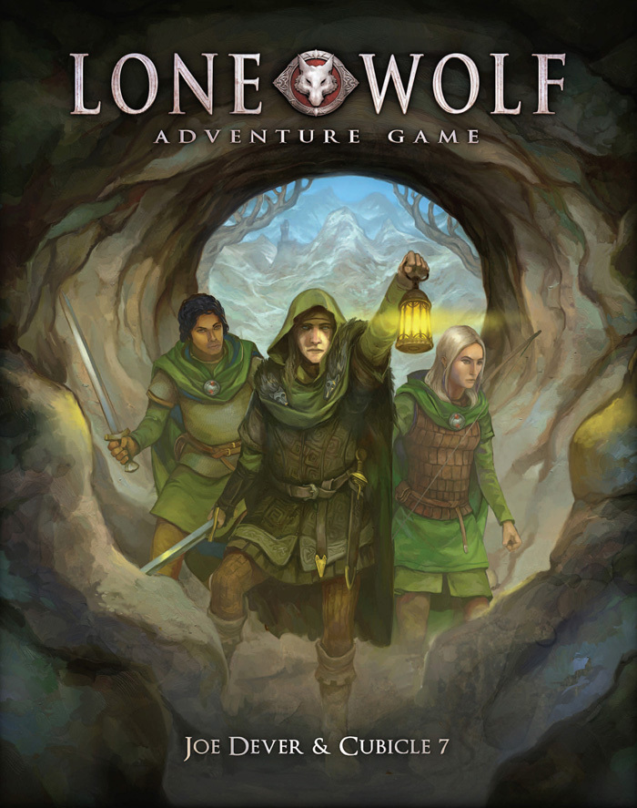 Lone Wolf Adventure Game (T.O.S.) -  Cubicle 7 Entertainment Ltd