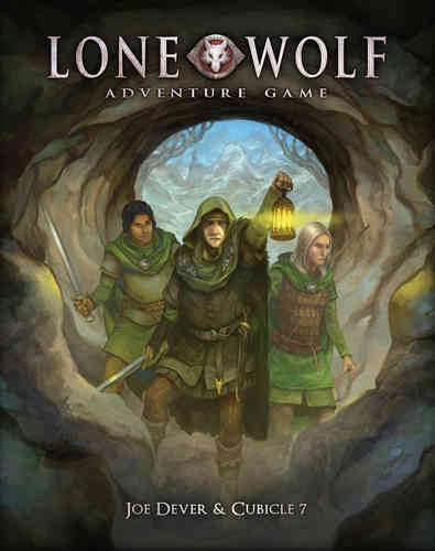 The Lone Wolf Adventure Game + PDF