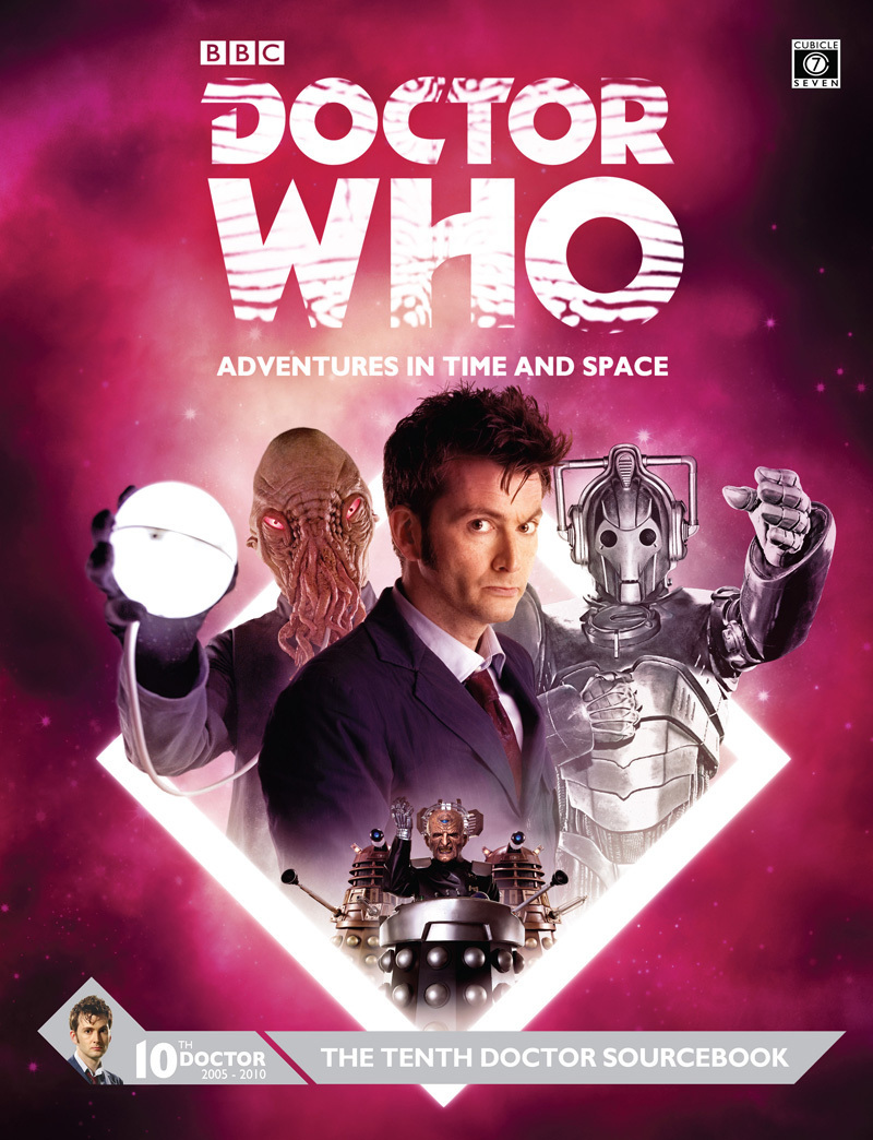 Doctor Who Tenth Doctor Sourcebook -  Cubicle 7 Entertainment Ltd
