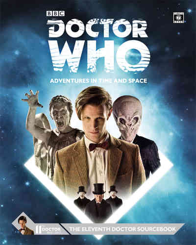 Doctor Who Eleventh Doctor Sourcebook -  Cubicle 7 Entertainment Ltd