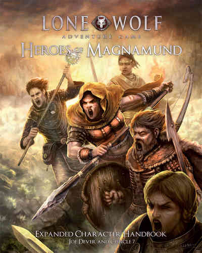 Heroes of Magnamund: Lone Wolf Adventure Game -  Cubicle 7 Entertainment Ltd