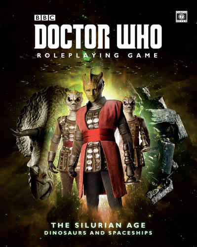 The Silurian Age: Doctor Who RPG -  Cubicle 7 Entertainment Ltd