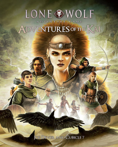 Adventures of the Kai: Lone Wolf Adventure Game -  Cubicle 7 Entertainment Ltd