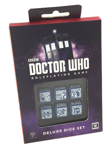 Deluxe Dice Set: Doctor Who RPG -  Cubicle 7 Entertainment Ltd