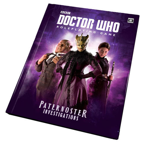 Paternoster Investigations: Doctor Who RPG Adventures -  Cubicle 7 Entertainment Ltd