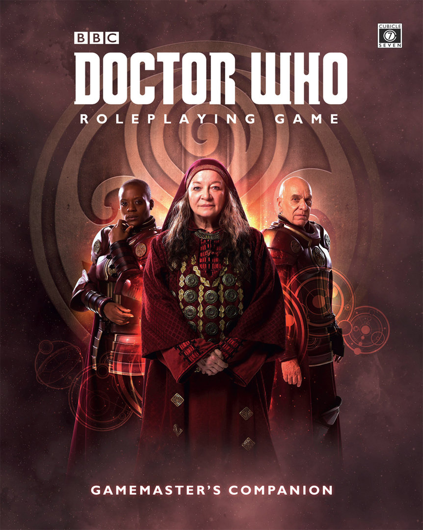 The Gamemasters Companion: Doctor Who RPG -  Cubicle 7 Entertainment Ltd