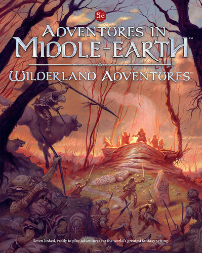 Wilderland Adventures: Adventures in Middle-Earth -  Cubicle 7 Entertainment Ltd