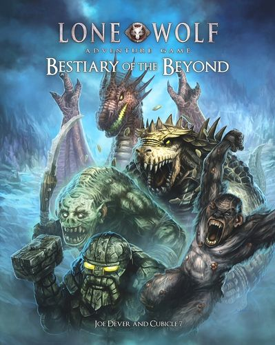 Bestiary of The Beyond: Lone Wolf Adventure Game -  Cubicle 7 Entertainment Ltd
