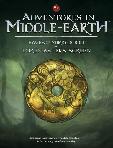 Eaves of Mirkwood and Loremasters Screen: Adventures in Middle-Earth -  Cubicle 7 Entertainment Ltd