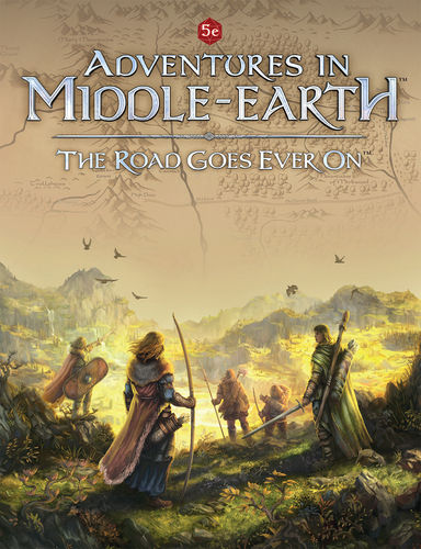 Adventures in Middle-earth - The Road Goes Ever On + PDF