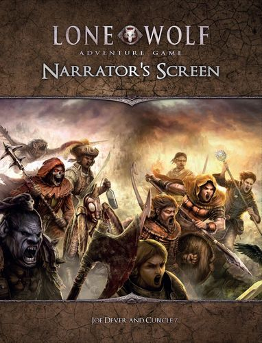 Lone Wolf Adventure Game Narrator's Screen + PDF
