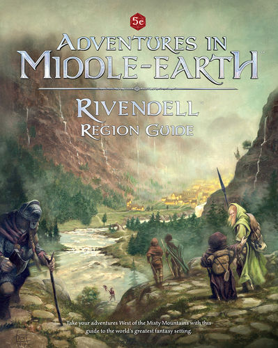 Rivendell Region Guides: Adventures in Middle-Earth -  Cubicle 7 Entertainment Ltd