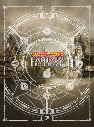 Warhammer Fantasy Roleplay Fourth Edition Collector's Limited Edition Rulebook + PDF