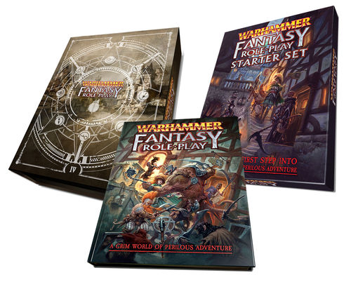 Warhammer Fantasy Roleplay Fourth Edition Collector's Bundle + PDFs