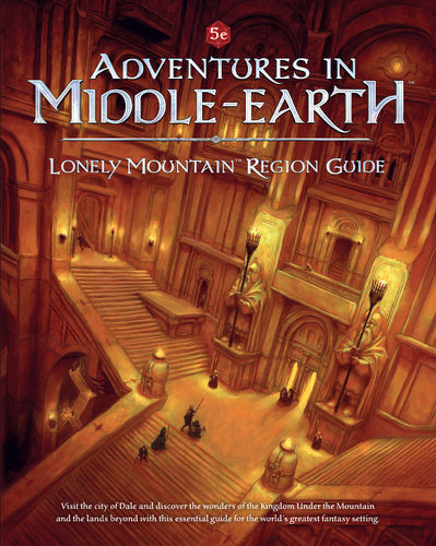 Adventures in Middle-earth - Lonely Mountain Region Guide + PDF