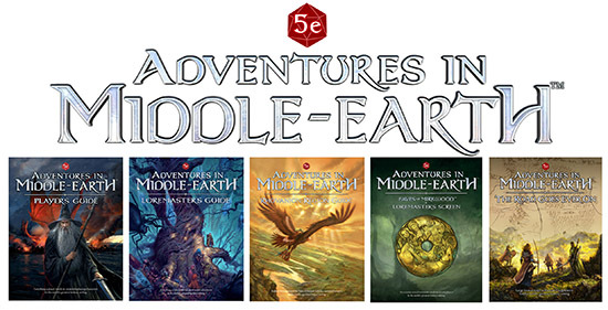 Adventures In Middle Earth Ogl Cubicle 7 Entertainment